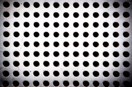 grid background: gray industrial grid background
