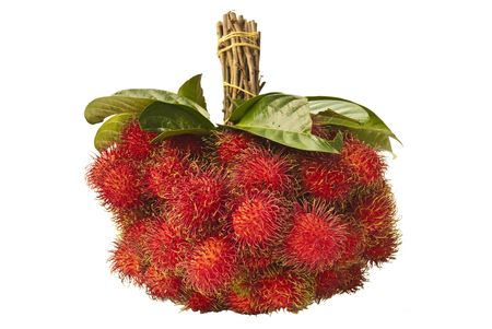 belay: Rambutan, Sweet fruit flavors in thailand Stock Photo