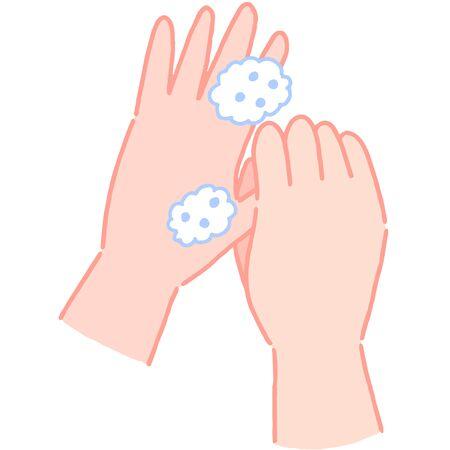 How to wash hands, wash thumb
