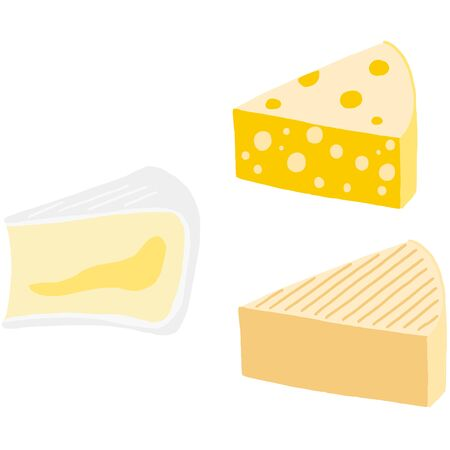 Dairy, Several Kinds of Cheese