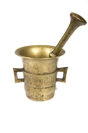 Mortar and pestle photo