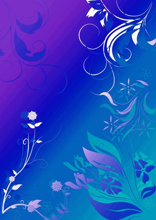 mystic floral background