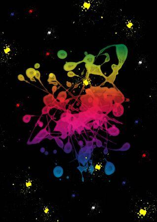 Colorful paint blot Stock Photo - 6672834