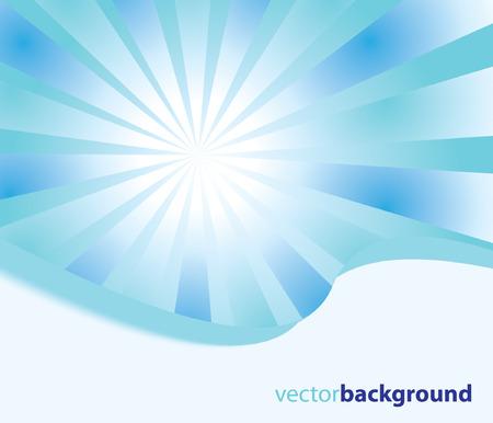 Sunburst abstract Stock Vector - 7929841