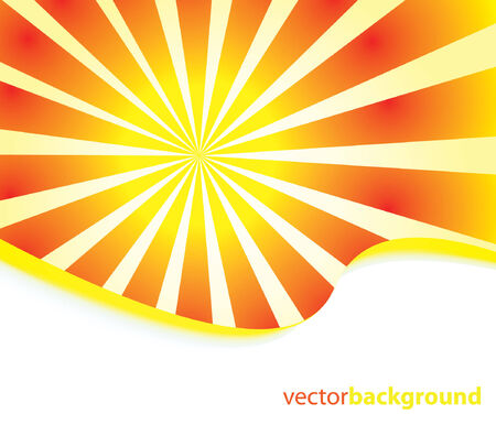 Sunburst abstract  Stock Vector - 7929842