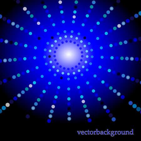 vision nocturna: EPS10 Puntos colorido fondo abstracto