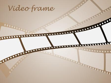 filmnegativ: Film-Streifen