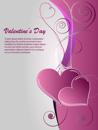 valentin: Valentin nap Illustration