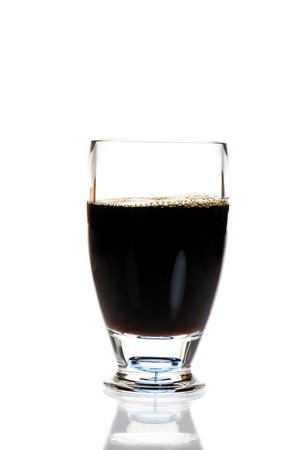 Noni juice in glass