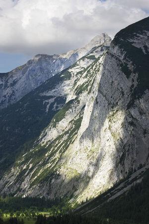 tyrol: Austria, Tyrol, Mountain landscape Stock Photo