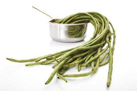Asparagus bean (Vigna unguiculata sesquipedalis) photo