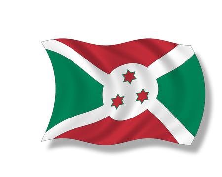 burundi: Illustration, Flag of Burundi