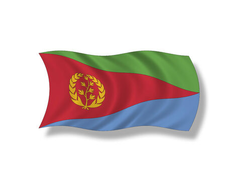 eritrea: Illustration, Flag of Eritrea