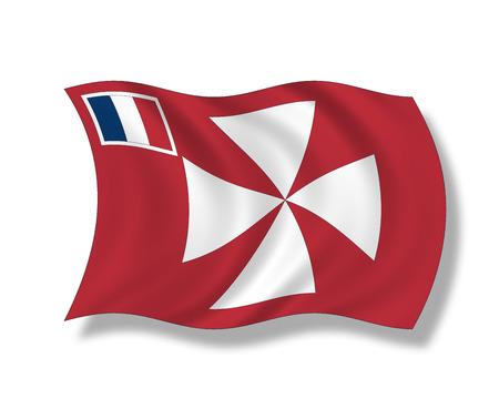 wallis: Illustration, Flag of Territory of Wallis and Futuna Islands