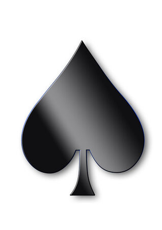 Symbol of spades photo
