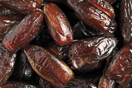 Dried dates, close-up