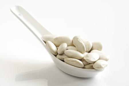 lima bean: Dried white giant beans