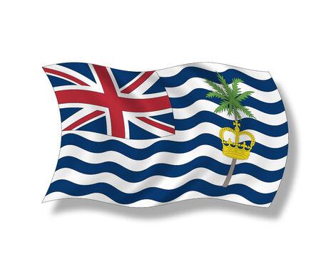indian ocean: Illustration, Flag of  British Indian Ocean Territory