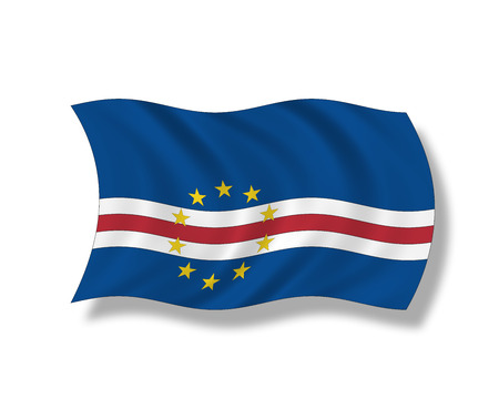 cape verde flag: Illustration, Flag of Cape Verde