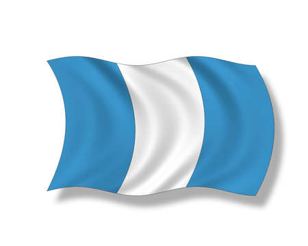 Illustration, Flag of Guatemala illustration