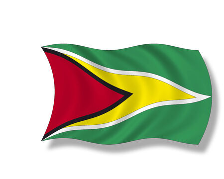 guyana: Illustration, Flag of Guyana