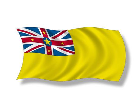 niue: Illustration, Flag of Niue