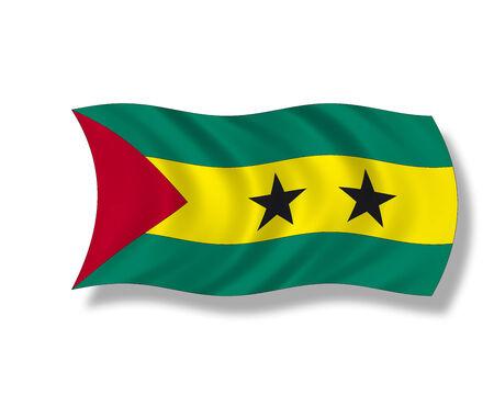 tomo: Illustrazione, Bandiera di Sao Tome e Principe