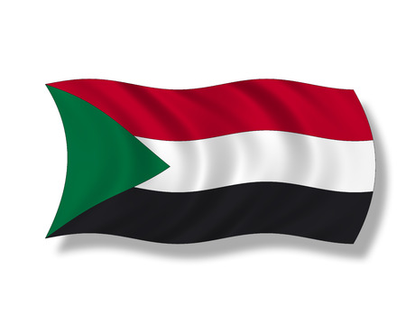 sudan: Illustration, Flag of Sudan