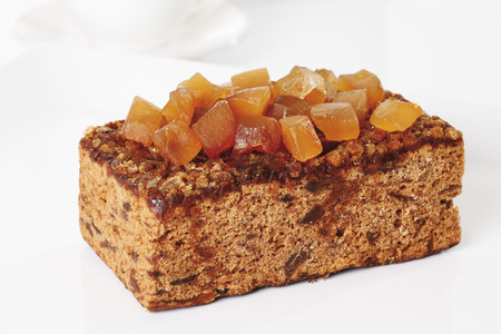 candied: Ginger cake with candied ginger