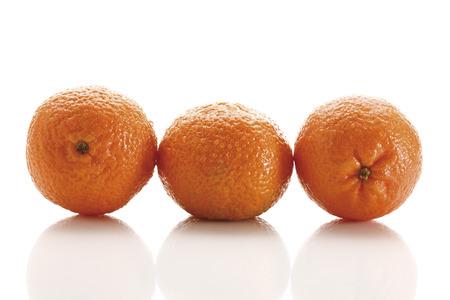 Fresh tangerines (Citrus aurantium) photo