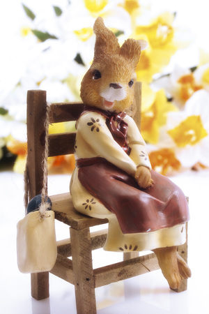 nack: Easter bunny figurine