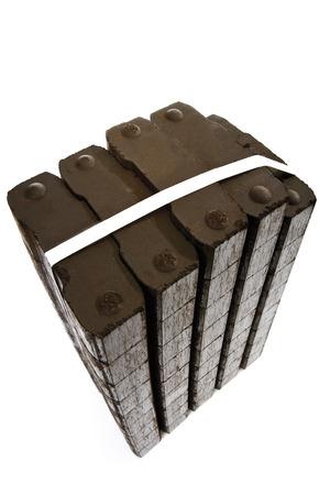 Lignite briquettes photo