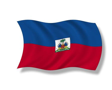 insular: Illustration, Flag of Haiti