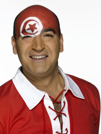tunisian: Male Tunisian soccer fan