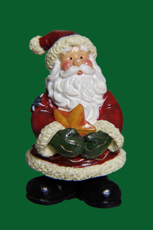 Christmas decoration, Santa Claus figurine