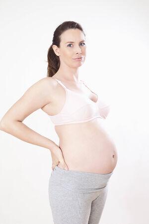 prenatal development: Portrait of a pregnant woman
