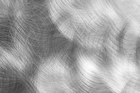 Concentric brushed steel sheet, background Stock Photo