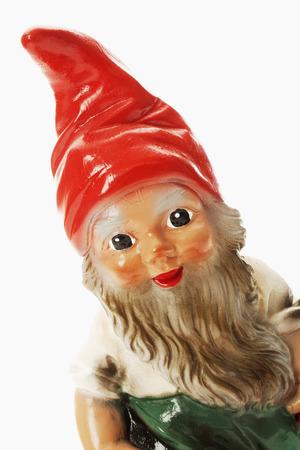 nain de jardin: Garden gnome, fermer