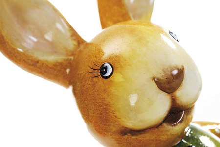 kitsch: Easterbunny, close-up