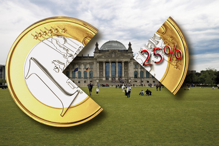 withholding: Berlin, the German parliament building, Reichstag, Withholding tax, close-up