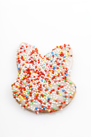 easter cookie: Easter pastry, Cookie with sugar granules