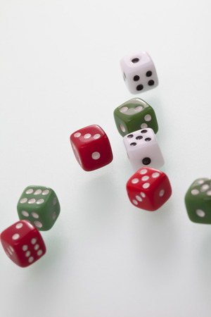 elevated view: Dice, elevated view