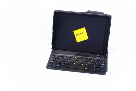 Tablet PC, Sticky note break