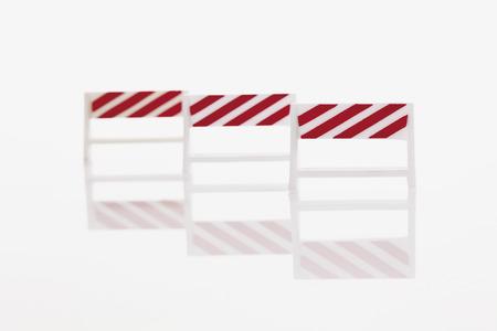 barrier: Mobile barrier on white background