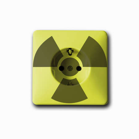nuclear power: Socket used to generate electricity from nuclear power Stock Photo
