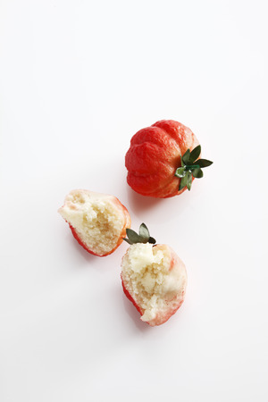 marzipan: Marzipan, Strawberries