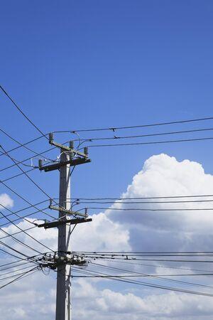 electricity pylon: New Zealand, Auckland, Electricity, electricity pylon