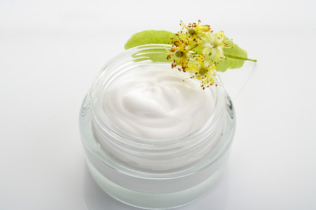 basswood: Lime blossom cream in a jar