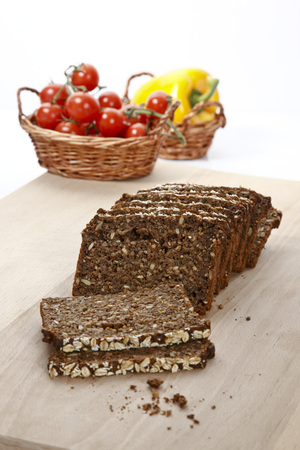 Wholemeal Bread, Tin Loaf