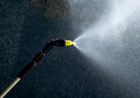Industrial pressure washer, nozzle Standard-Bild